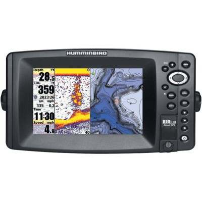 859 CI HD Sonar + GPS avec carte navionic (to be translated)