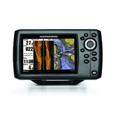 Hélix 5 Sonar Side imaging et GPS (to be translated)