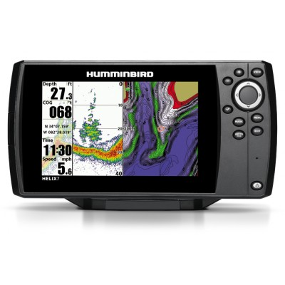 Hélix 7 Sonar + GPS avec carte navionic (to be translated)